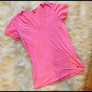 Size large pink tee from VS PINK